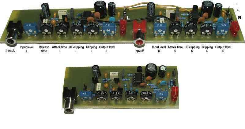 Compressor Circuit Audio Signal Control