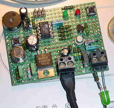 Gas Detector Circuit  ATtiny45