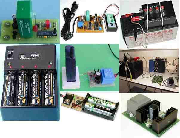 Battery Charger Circuits Archive