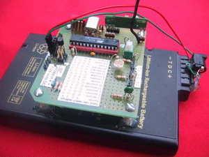 ATmega8 AT90S4433 Wireless RF Temperature Transmitter