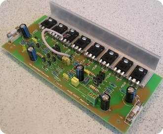 400W Mosfet Amplifier Circuit
