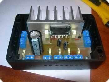 TDA7384 4×22 Watts Car Amplifier Circuit