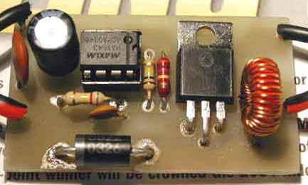 12V to 16V DC DC Converter Circuit MAX643