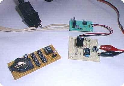 PIC12C509 Remote Receiver Transmitter
