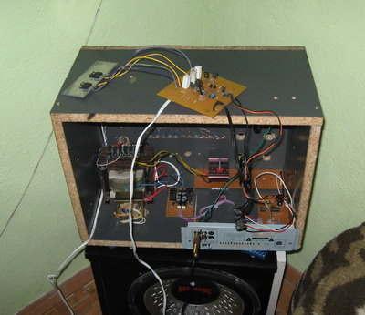 150W Mosfet Amplifier Circuit