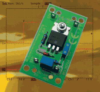 5 Amps Current Regulator with MOSFET