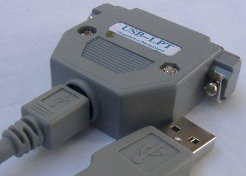 USB to LPT Converter Circuit with Atmel ATMEGA8