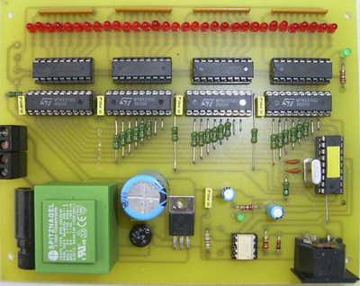 PIC16F84 Midi 32-channel decoder circuit