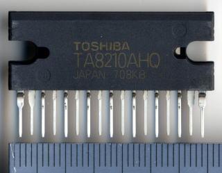 Guitar Amplifier Input Mixer with TA8210