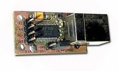 USB UART Circuit FT232RL PCB