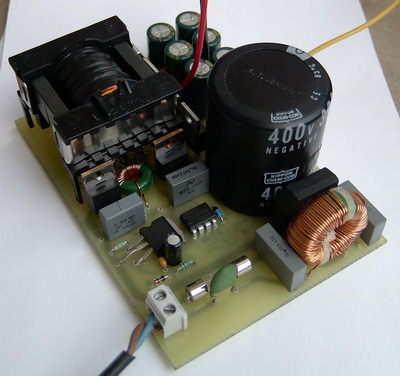 Symmetric Output Audio Amp SMPS Circuit with IR2153 ETD34