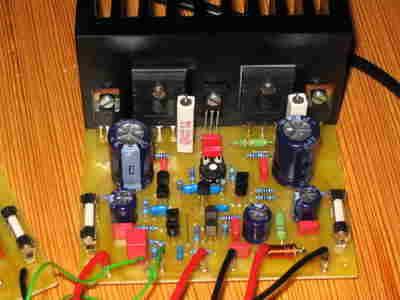 100W Hi-fi AmplifierCircuit symasym