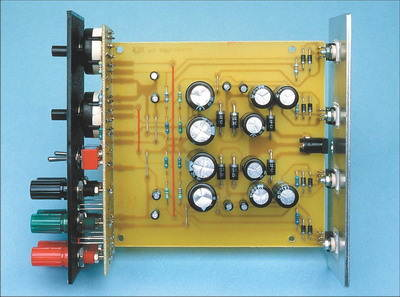 Simple Symmetric Power Supply Circuit with LM317T LM337T