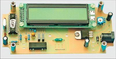 PIC16F628 LC meter circuit