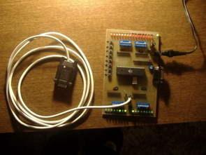 ATmega16 AVR Test Board for Beginners