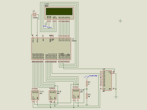 AT89C51 LCD display Frequencymeter Project