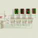 0-9999 Counter Circuit with PIC16F84A Picbasic Pro