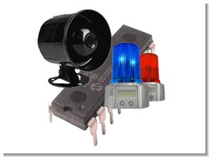 PIC16F84 Multi Siren Sounds Circuit