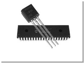 LM35 Sensor Heater Control PIC16F877 Thermometer