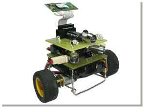 MC9S08QG8 Microcontroller Project with a Bluetooth-Controlled Robot