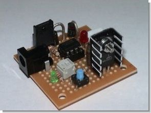 LM317 Li-Ion Batteries Fast Charger Circuit