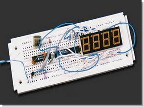 PIC16F84 DS1920 Scrolling Temperature Display MAX7219  CCS C