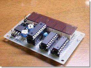 PIC16F88  Digital Voltmeter Circuit