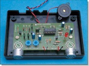 MA40A3R Ultrasonic Parking Sensor Circuit (analog desing)