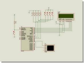 PIC16F877 PIC16F84 Proteus isis Picmicro Development Board Simulations