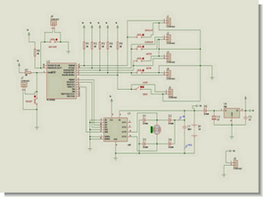 Feedback  PWM Motor Control Circuit with  PIC16F628  L298
