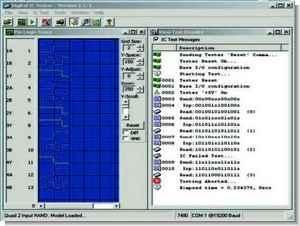 PIC16F877 Digital Logic Integrated Test TTL IC Tester Circuit