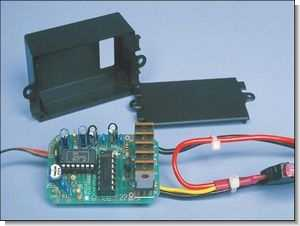 50A Motor Speed Control Circuit for Model Car, Boat