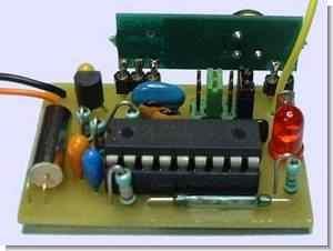 PIC16F84 RF Fish Detector Circuit