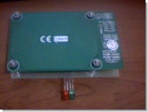 PIC16F88 SN75176 CCS C EM4100 RF-ID Reader Project