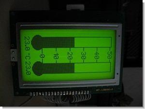KS0108 LCD Thermometer CCS C PIC16F88 LM35 Sensor
