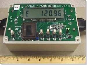 PICMicro PIC16C923 Current Measurements  Watt Hour Meter Project