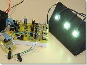 Power LED Driver Circuit LED Current Sources Atmega8 PWM