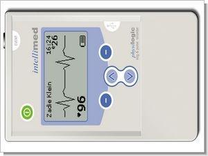Portable ECG Data Logger MSP430F1232 LCD