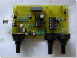 LM358 Sound Detector Circuit