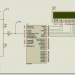 PIC16F877 ADC Volt Meter Circuit MicroC Example