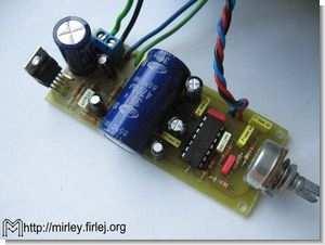 Active Subwoofer Bass Filter Circuit TDA2030 Amplifer Project