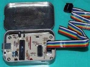 Atmel AVR Programmer USB Circuit  Atmega8