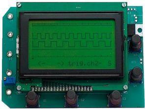 PIC18F4580 USB Analyzer Circuit LCD  4-Channel