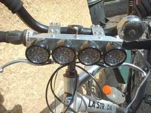 Dynamo-Powered Bike LED Lights