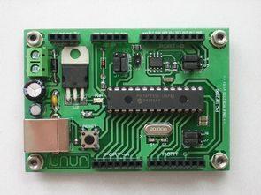 PIC18F2550 Development Board Circut USB Bootloader PCB