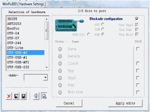 GTP USB programmer Circuit