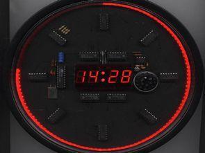 Atmel AT89C2051 Clock Circuit with LED Display