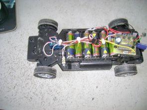 Toy car remote control Circuit  PIC18F452 PIC16F628