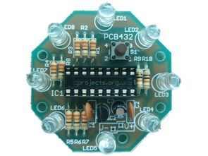 LEDs show Circuit PWM  PIC16F628 MPLAB