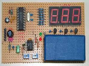 PIC16F84 Heartbeat Monitor Circuit LED Display